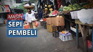 Dua Hari Pasca-Dibuka Kembali, Pasar Palmerah Sepi Pengunjung