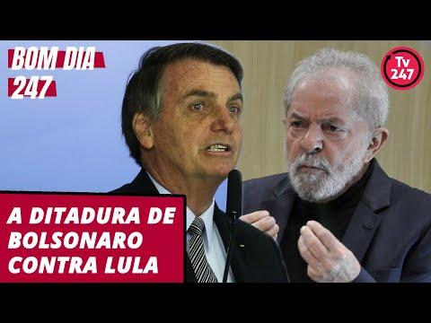 Bom dia 247 (12.11.19): A ditadura de Bolsonaro contra Lula