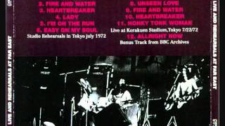 FREE : JAPAN REHEARSALS 1972 : SEVEN ANGELS .