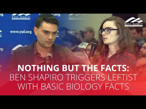 NICHTLIKS EN DE FACTS: Ben Shapiro liedt linksist mei basic biologyfacts