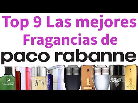 Top 9 Las mejores fragancias de Paco Rabanne