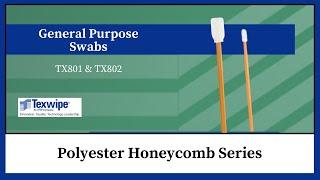 General-Purpose Swab: Polyester Honeycomb Series