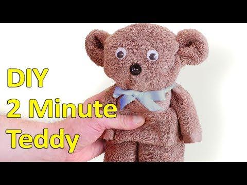 2 Minute DIY Teddy Bear