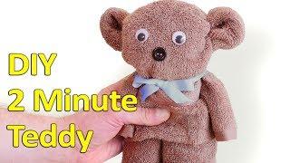 2 Minute DIY Teddy Bear - Video Youtube