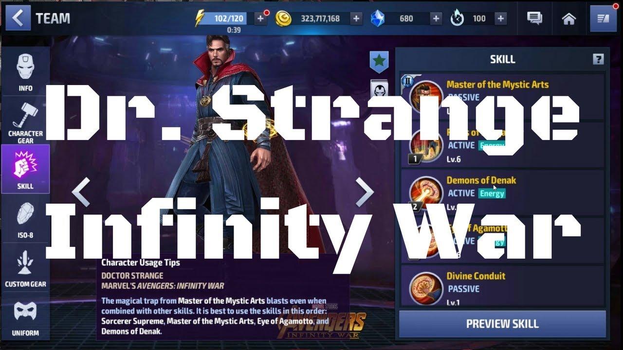 รีวิว Dr. Strange ยู Infinity War
