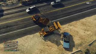 epic bulldozer fight, ends with a tragedy