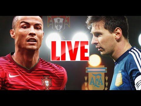 [LIVE] Portugal vs Argentina - International Friendly