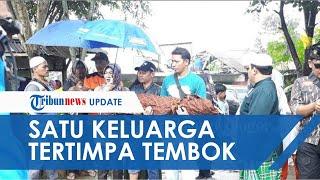 Satu Keluarga Tewas di Bogor Akibat Tertimpa Tembok, Sang Ibu Sedang Hamil Ikut Jadi Korban