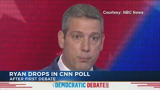 Tim Ryan polls drop following first Democratic debate