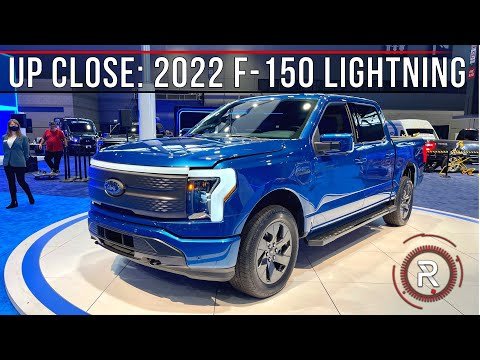 2022 Ford F-150 Lightning – Redline: First Look – 2021 Chicago Auto Show