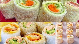 Sandwich Rollups Or Pinwheels - Bread Sushi - Kids Video Recipes - Perfect Summer Recipe