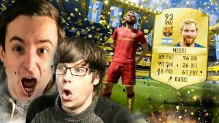 OMFG I PACKED MESSI IN A FREE 5K PACK!!!!!!!!! - FIFA 17