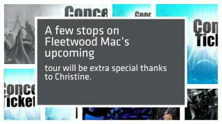 Christine McVie Back With The Mac