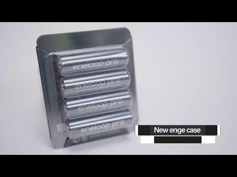 Panasonic eneloop pro avec Storage Case (Batterie, 4pcs, AA, 2500mAh)