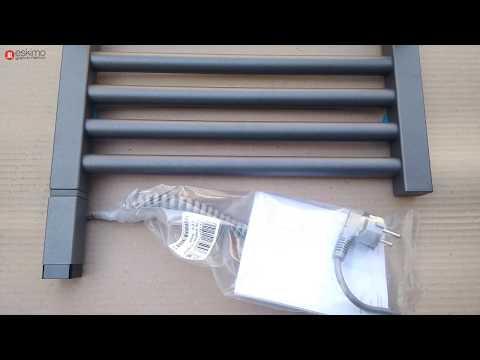 Электрический Terma Lima 820x400, graphite, нагреватель One
