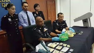 Balik Pulau police nab four drug pushers in two hours