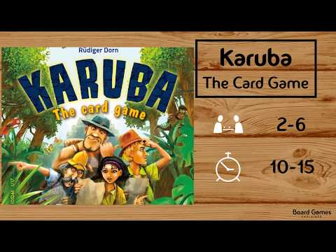 Karuba: The Card Game Explained in 2 Minutes