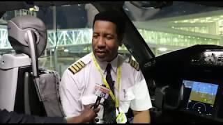 EXCLUSIVE na Rubani Aliyerusha Air Tanzania Mpaka India Kwa Mara ya Kwanza| Terminal 3 Kama Ulaya