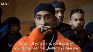 2pac - Holler if you hear me REMIX + lyrics