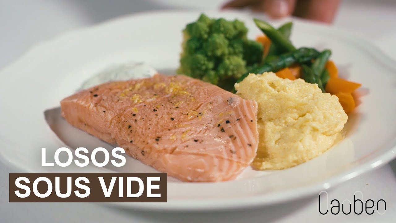 Video - Perfektní lososový filet metodou sous vide