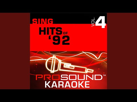 Wishing On a Star (Karaoke Instrumental Track) (In the Style of The Cover Girls)