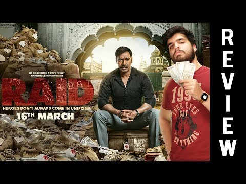 Raid OFFICIAL Movie Review –  Ajay Devgn, Ileana D'Cruz –