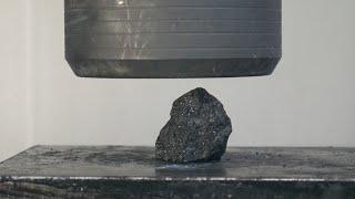 Crushing COAL into DIAMONDS Hydraulic Press- Will it work?