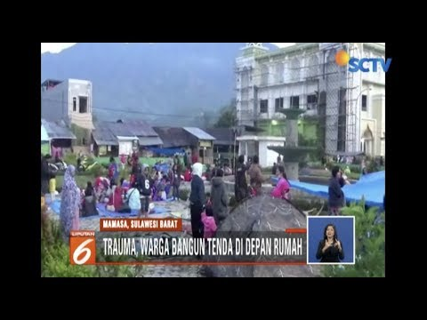 Kepanikan Warga usai Gempa 5,5 SR Guncang Mamasa - Liputan 6 Siang