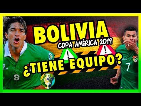 BOLIVIA EN LA COPA AMÉRICA BRASIL - MI CONVOCATORIA 2019