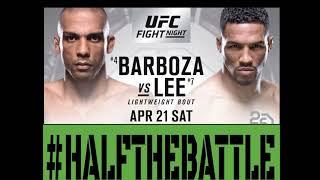 UFC Atlantic City: Barboza vs Lee Bets, Picks, Predictions on Half The Battle