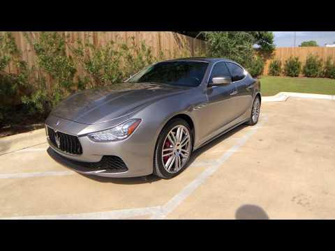 Pre-Owned 2016 Maserati Ghibli North America specification S
