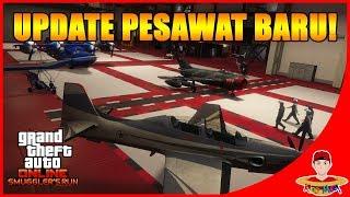 habis $30.000.000++ beli PESAWAT !! GTA V ONLINE Smuggler's run indonesia