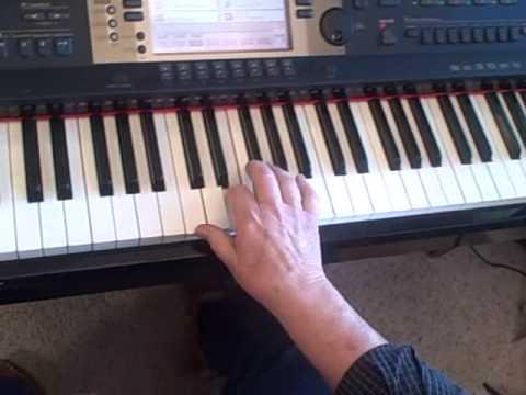 Piano lesson on Arpeggios - Broken Chords