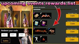 reward ff garena free fire - TH-Clip