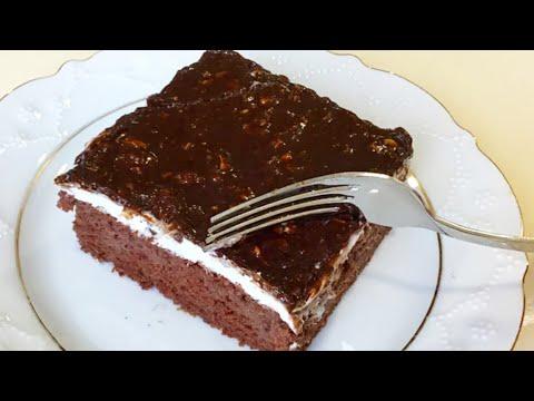 Bir Dilimin Asla Yetmediği Çikolatalı Fındıklı Dilim Pasta 👉🏻bera TATLİDUNYASİ