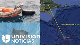 Encuentran restos humanos en la zona donde se perdió contacto con el avión chileno siniestrado
