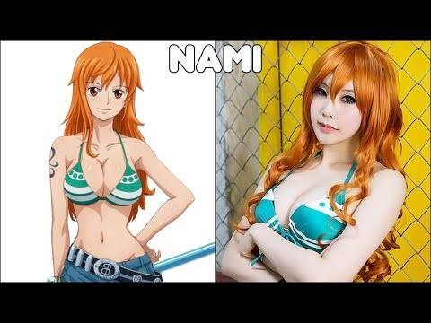 One piece characters in real life