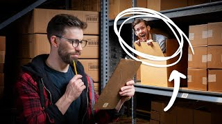 He Hid from his Boss All Day (You'll Never Guess How) • Hidden in Plain Sight #2