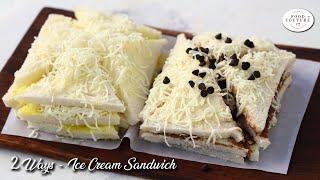 Ice Cream Sandwich Recipe | Best Of Ahmedabads Manekchowk | Famous Street Food Sandwich