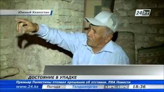 Мавзолей Ходжи Ахмета Яссауи в Туркестане разваливается после реставрации