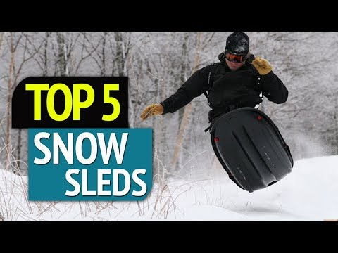 TOP 5: Best 5 Snow Sleds