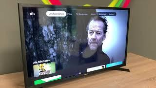 Apple TV App und AirPlay auf einem Samsung Fernseher