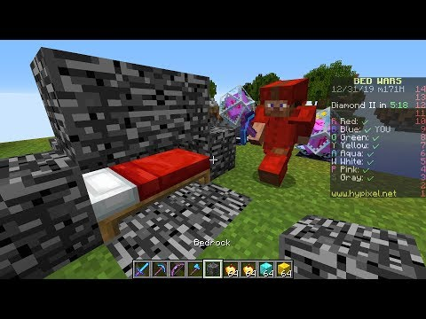 I secretly used CREATIVE MODE in Minecraft Skywars and this happened...
