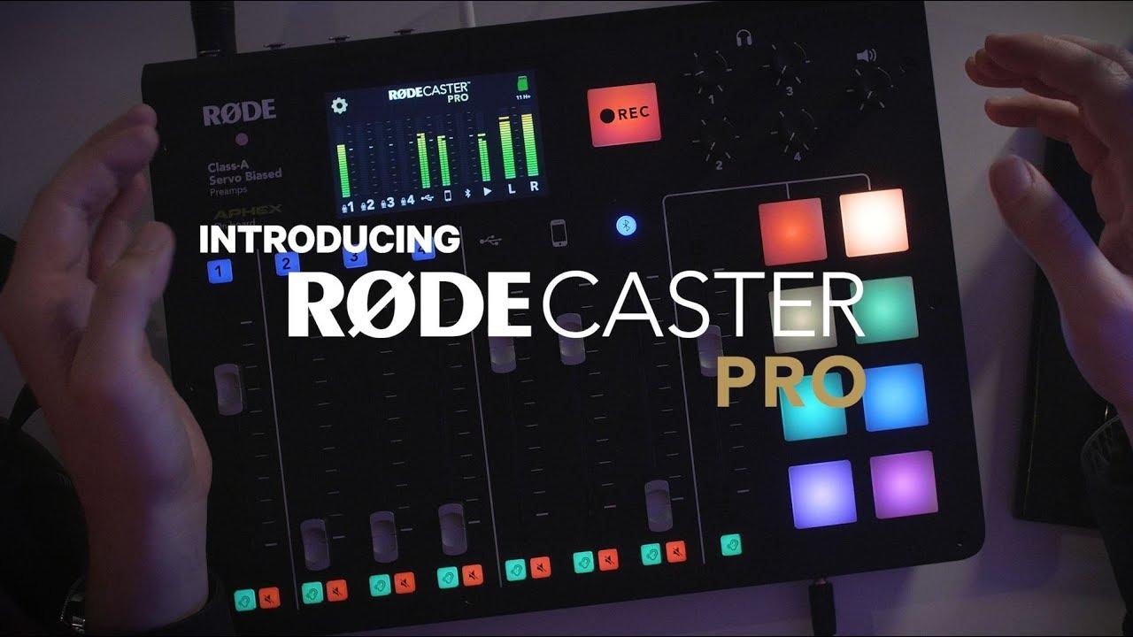 Představení RØDECaster Pro