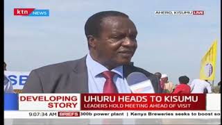 Goodies that President Uhuru has carried with him to Kisumu