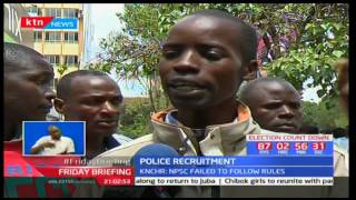KNCHR issues report on police listing that NPSC failed to follow set regulations and laws