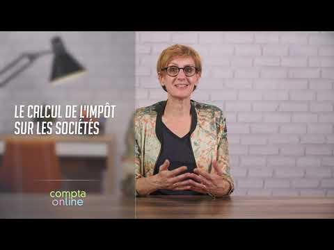 Le calcul de l'impôt sur les sociétés