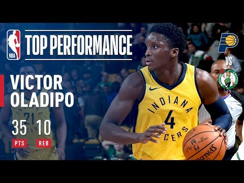 Victor Oladipo Powers Pacers With 35 Points | February 9, 2018