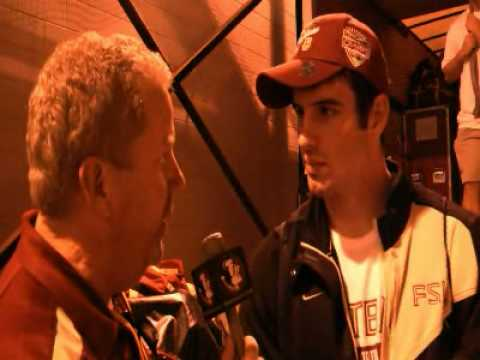 Christian Ponder Bowl Post Game Interview