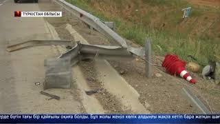 Сарыағаш-Шымкент тас жолында сұмдық жол апаты болды
